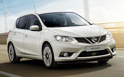 Fabrikas Nissan Pulsar